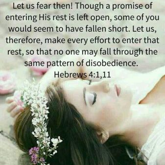 Hebrews 4.1 - Let us Fear